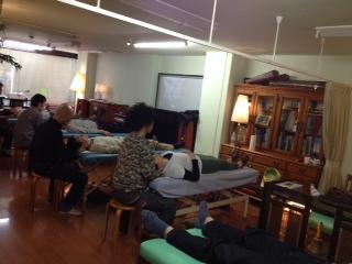頸椎月例オステオパシーセミナースクールIN東京