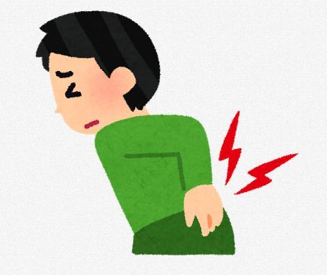 ギックリ腰などの急性腰痛の対処について