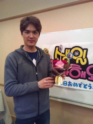 ユン・ソホ誕生日パーティ
