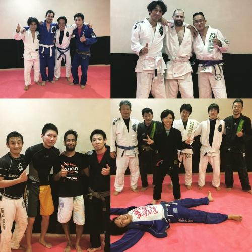 ブラジリアン柔術クラス、今日の参加者