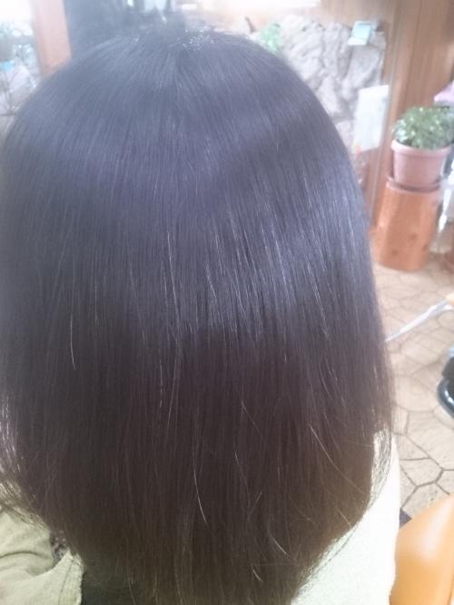 頭皮の毛穴はスッキリ、髪は水分量たっぷり!