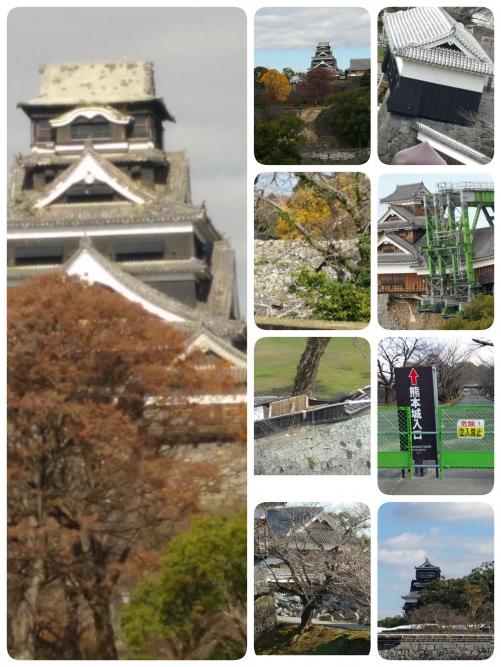 熊本城へ来て!