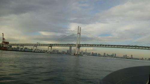 東京湾から