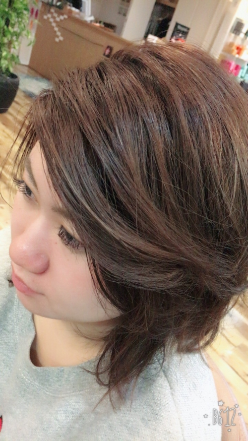 かきあげ前髪♪