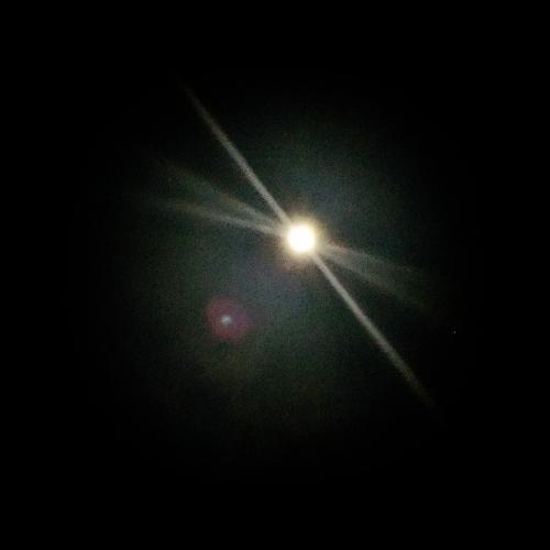 満月綺麗ですね( ^-^)ノ∠※。.:*:・'°☆