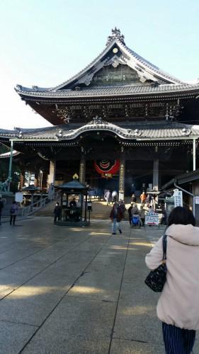 商売繁盛を祈願して豊川稲荷神社に行ってきました。
