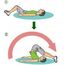 腰痛予防のストレッチ方法