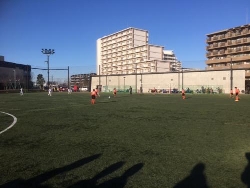 サッカーチーム活動東京遠征