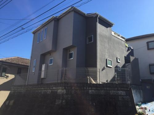 外壁塗装 ストーン吹き 戸塚区O様邸