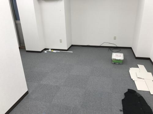 タイルカーペット施工 藤沢市 事務所