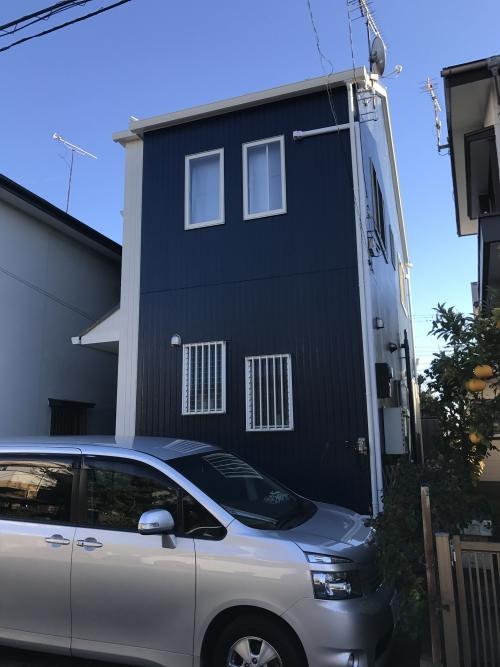 外壁塗装 ラジカルHB塗料 横須賀市O様邸