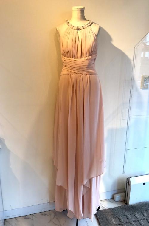 ドナモルガンのピンク系ロングドレス