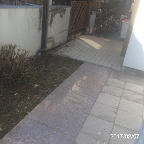 玄関大理石リフォーム名古屋