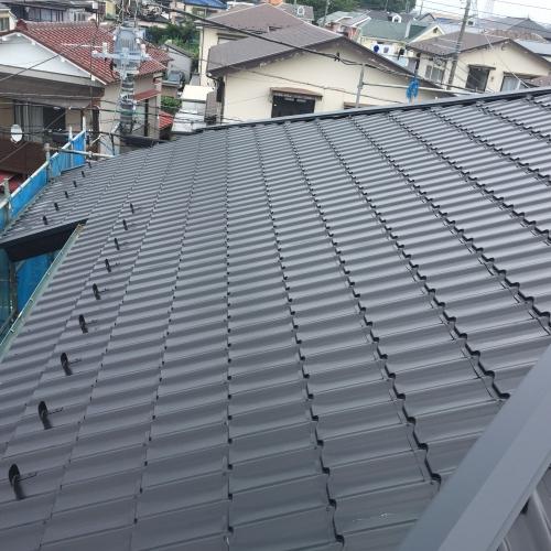 屋根葺き替え工事 泉区K様邸