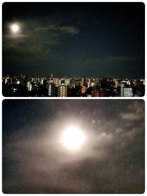 満月綺麗です❗