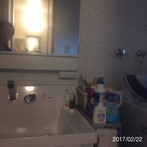 洗面化粧台のリフォーム名古屋