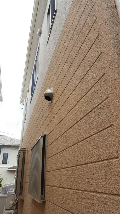 外壁塗装 ストーン吹き 横須賀市I様邸