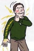 「寝違い後に肩・腕や、肩甲骨の内側あたりが痛くなった」患者様