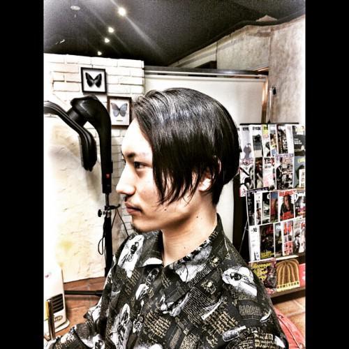 卒業式 フェード 刈り上げ barber 新潟