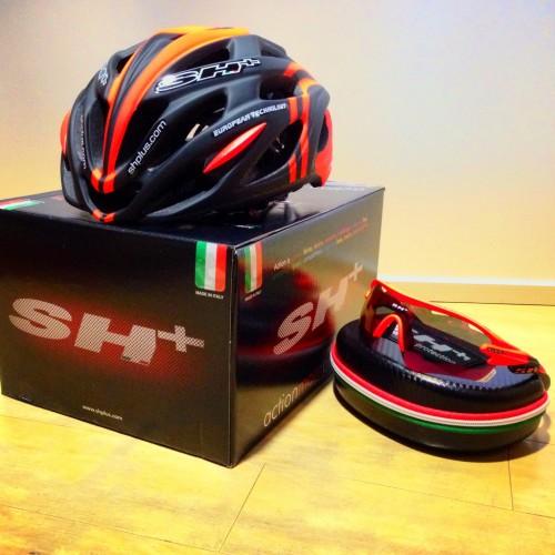 お買い得セット≪SH+ ヘルメット&サングラス≫