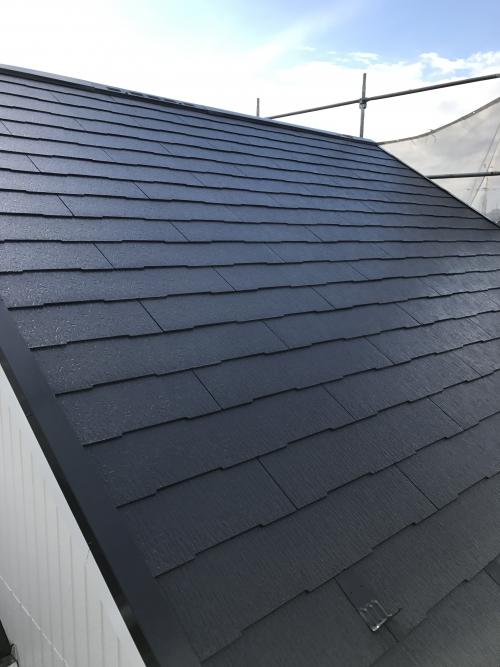 屋根塗装工事 横須賀市O様邸