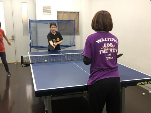 大事なことは卓球を楽しむ!!