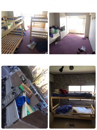 渋谷区、ベッド解体、家具移動、搬入搬出、引越サポート