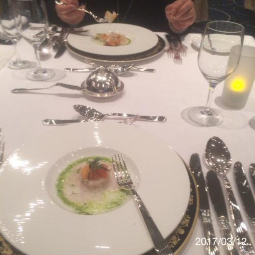 エイコウホームホテルでディナー