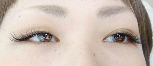 左右の目の形に合わせて、デザインも変えていこう☆