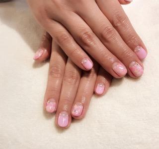 ピンク ネイル☆