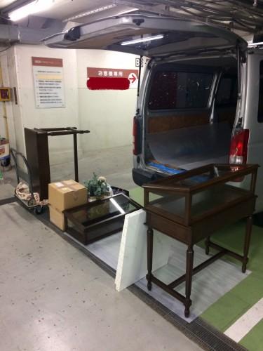 東京都、搬入・搬出、お荷物移動、設置、撤去
