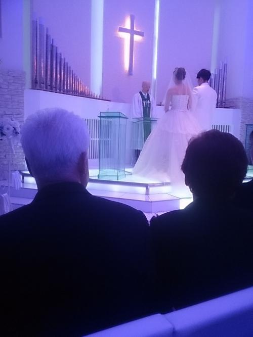 結婚式   (*^▽^)/★*☆♪