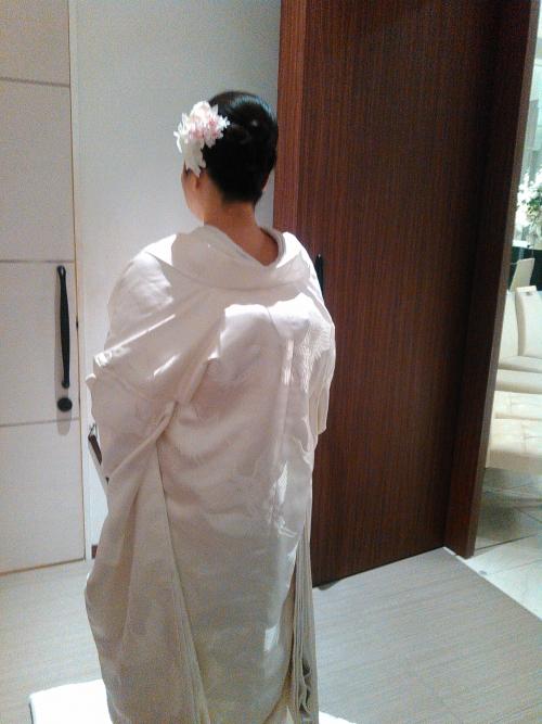 和装婚 和装前撮り!おめでとうございます。