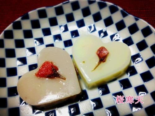 4月カキラレッスン&桜のスィーツ