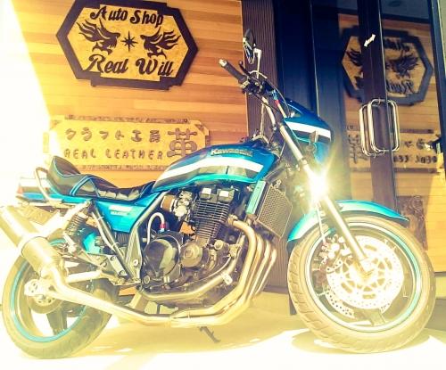 Kawasaki  ZRXのキャブセッティング