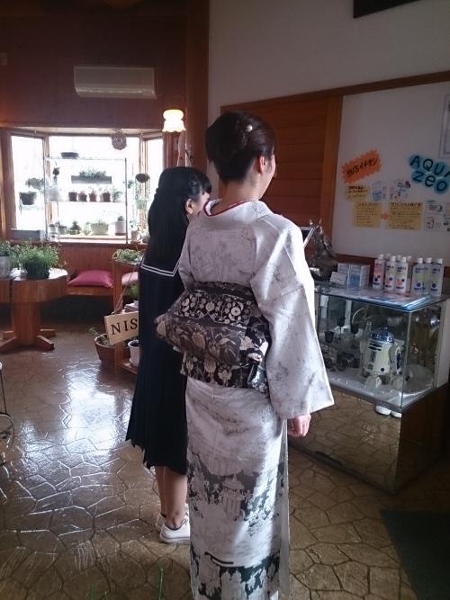 今日は津山の中学校の入学式です。(^-^)v