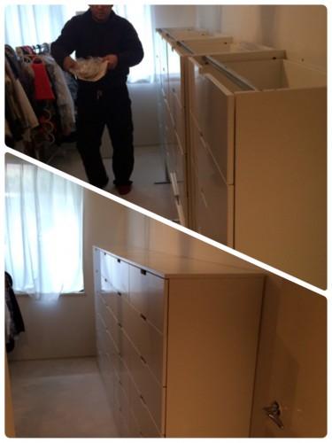 渋谷区、日曜大工、家具組立、箪笥、格安、レスキュー