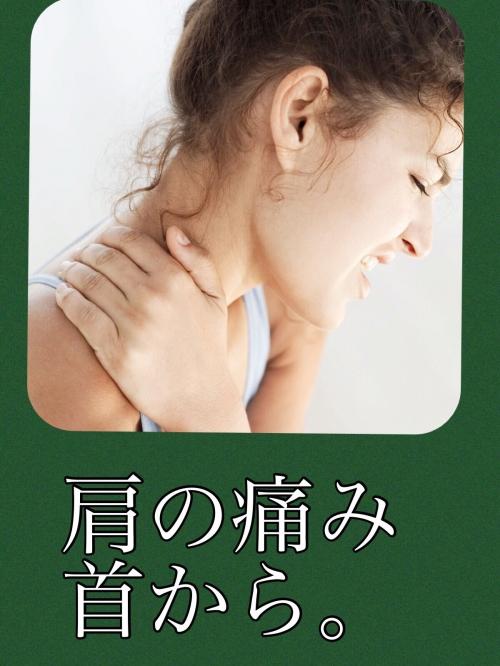 肩の痛み 首から。向ヶ丘遊園整体 北口