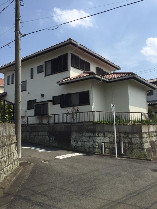 外壁塗装工事 茅ヶ崎市K様邸