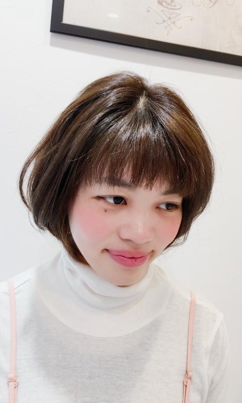ショートボブヘアおすすめ人気髪型調布美容院