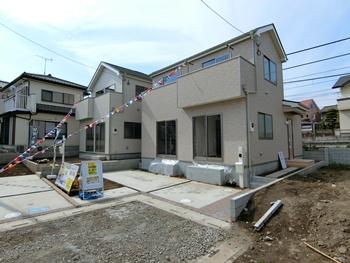 指扇駅 西大宮駅 徒歩12分 新築4LDK 2,480万円~