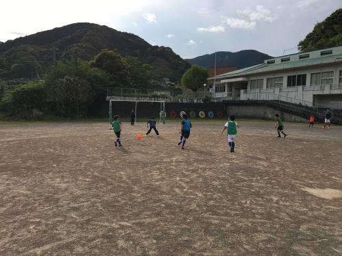 サッカー合宿1 日目