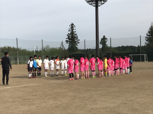 【LADIES】始動後、初の女子チームとの練習試合