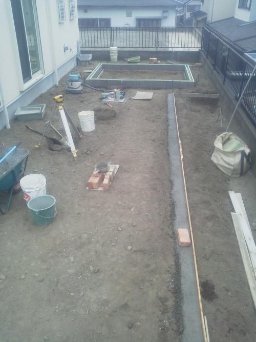 金沢区で造園工事。