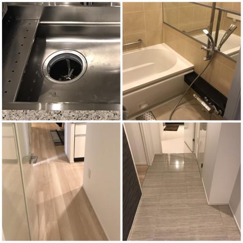 お部屋のお掃除、水周りのお掃除、安心安価、東京都