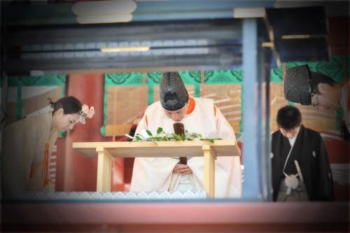鶴岡八幡宮での結婚式