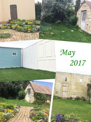 撮影スタジオ:5月のガーデン