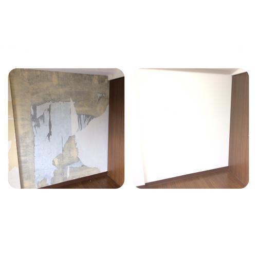 札幌市厚別区の分譲マンション|クロス(壁紙)張替えリフォーム