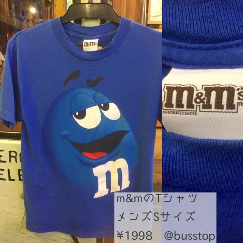 m&m'sのメンズTシャツが入荷です!