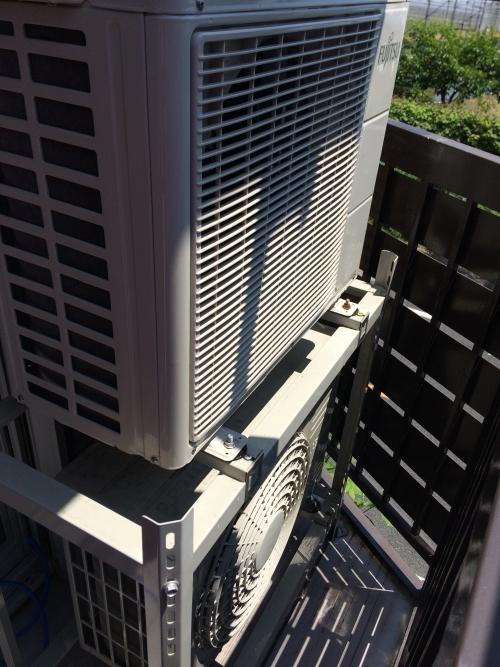 江戸川区でエアコンの室外機クリーニング